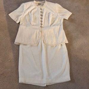 Ivory Skirt Set